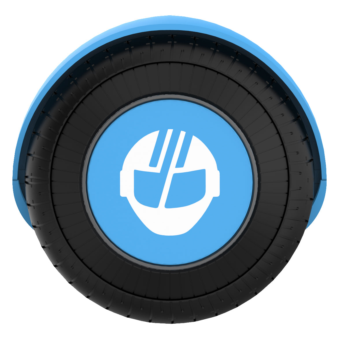 blue remix hoverboard wheel image