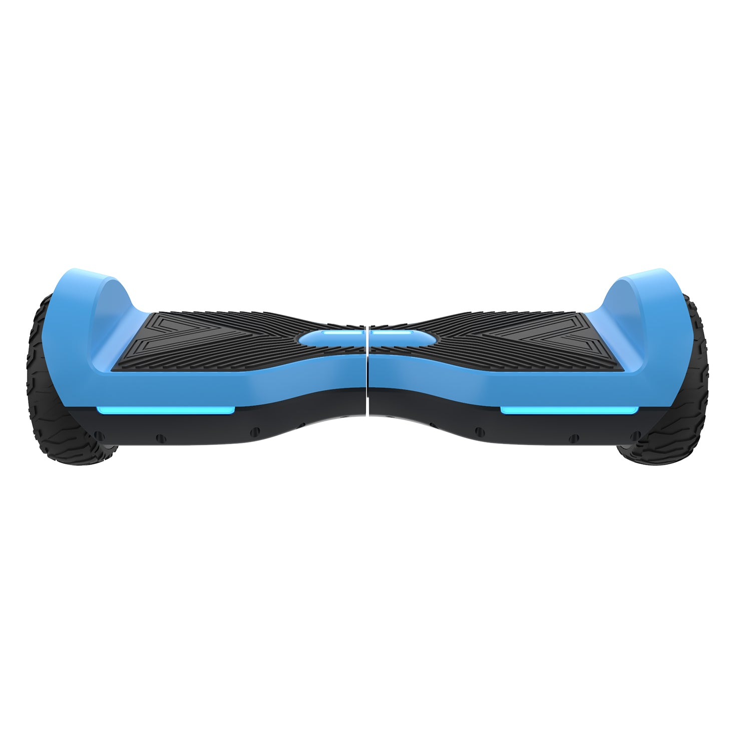 blue srx a6 bluetooth hoverboard front image