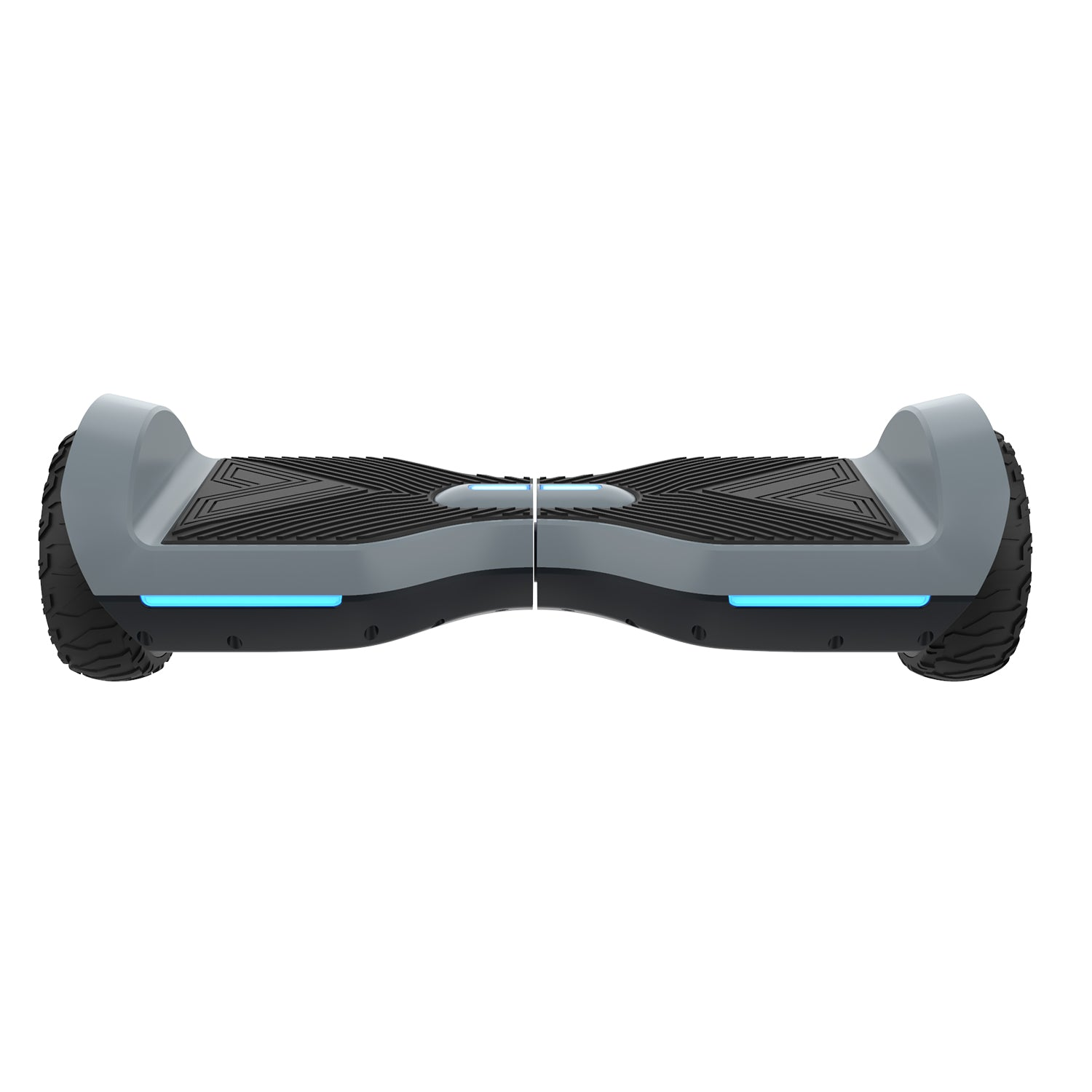 gray srx a6 bluetooth hoverboard front image