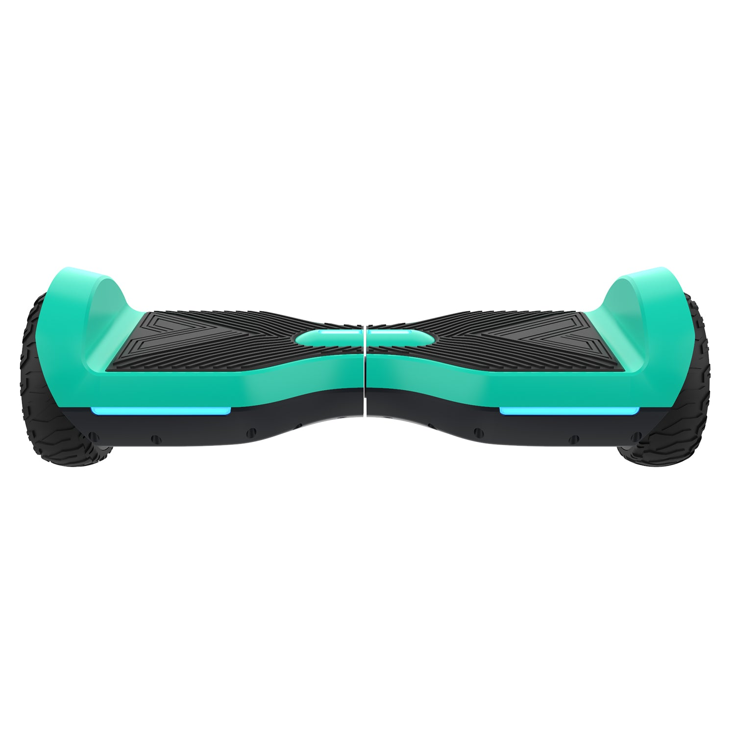 teal srx a6 bluetooth hoverboard front image