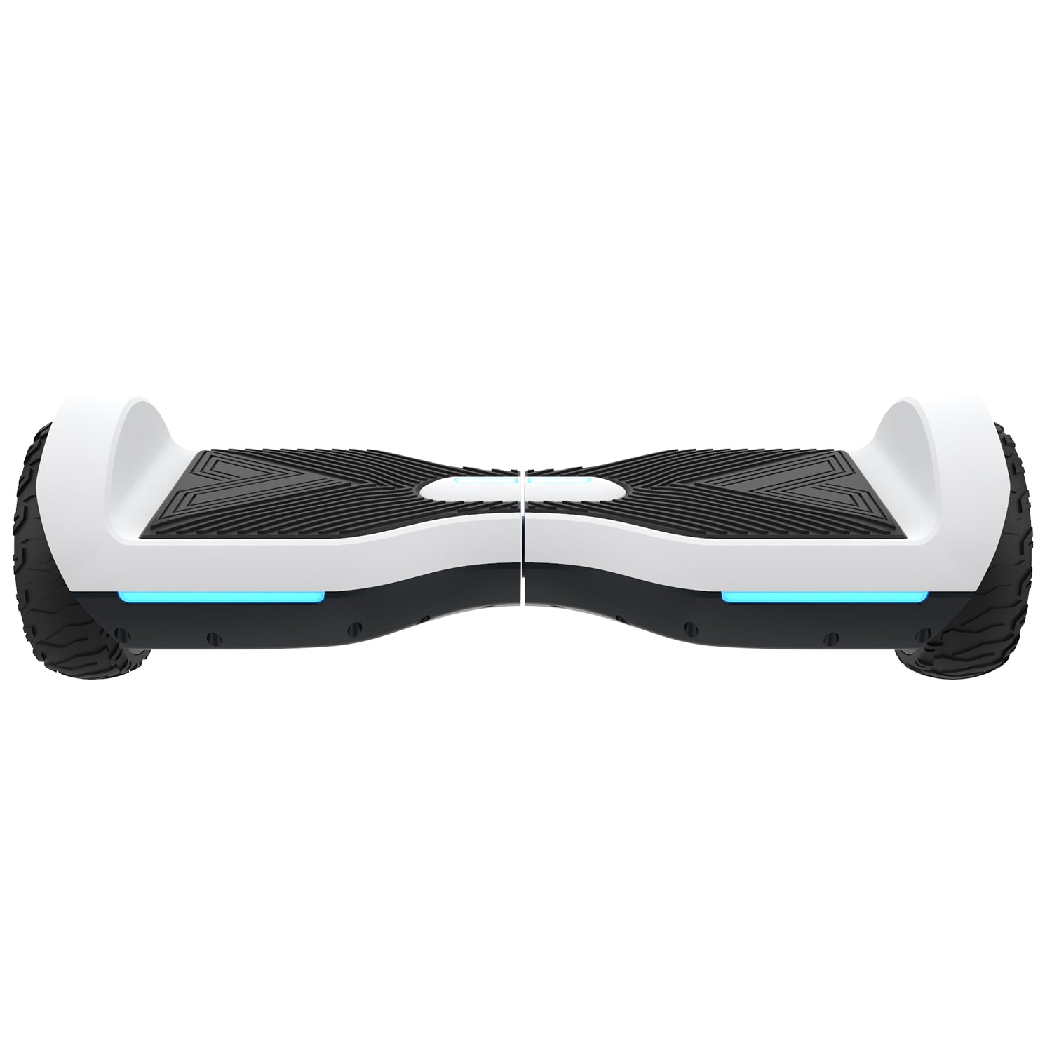white srx a6 bluetooth hoverboard front image