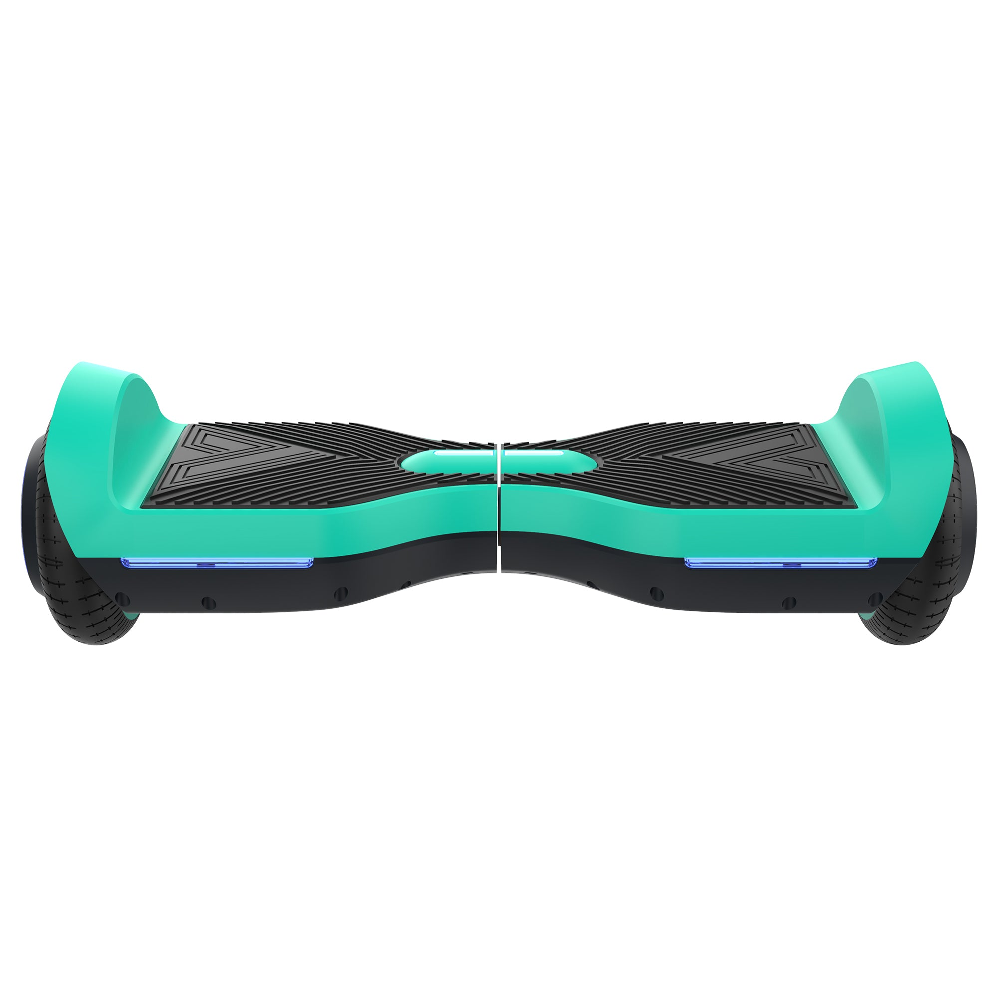 aqua front view SRX bluetooth hoverboard