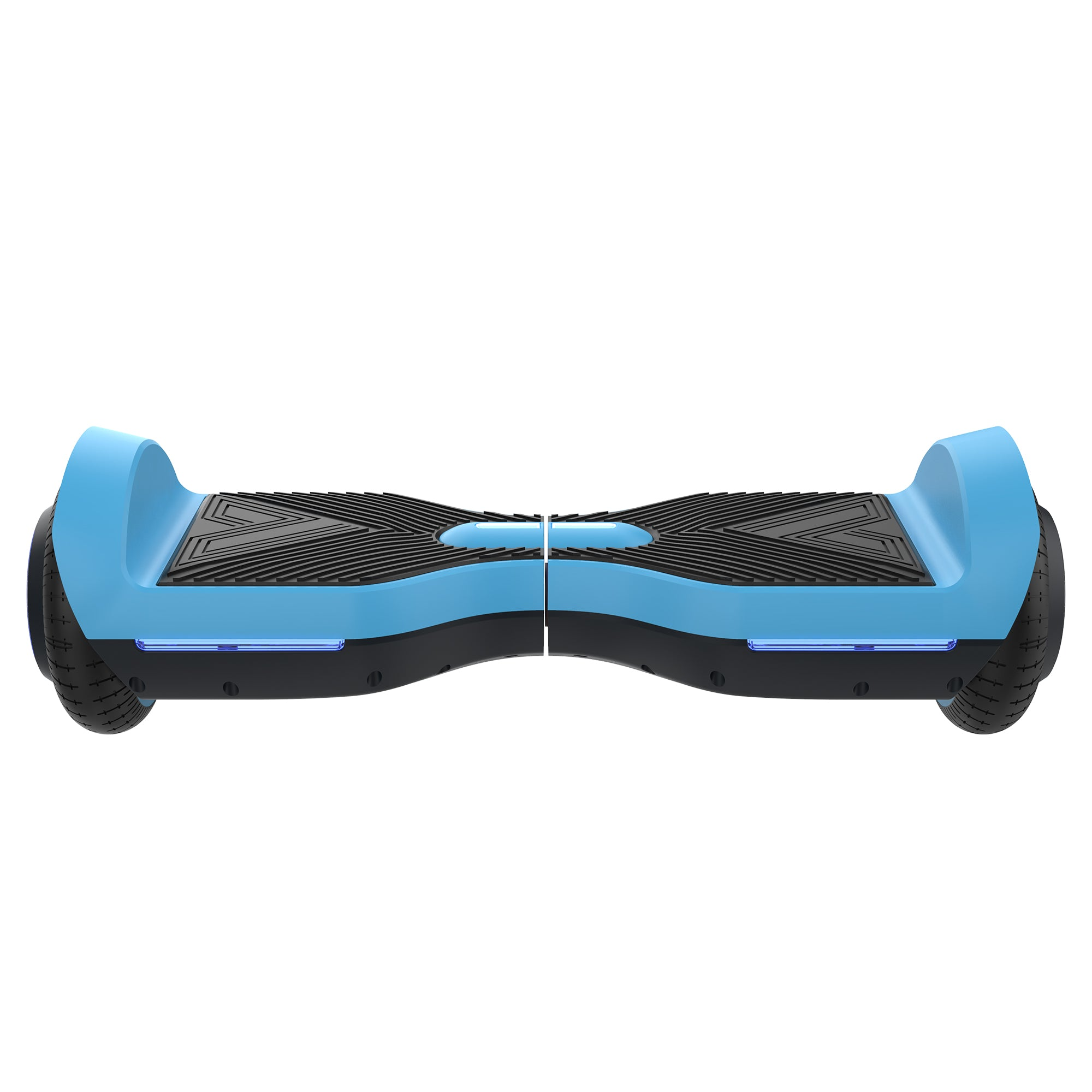 blue front view SRX bluetooth hoverboard