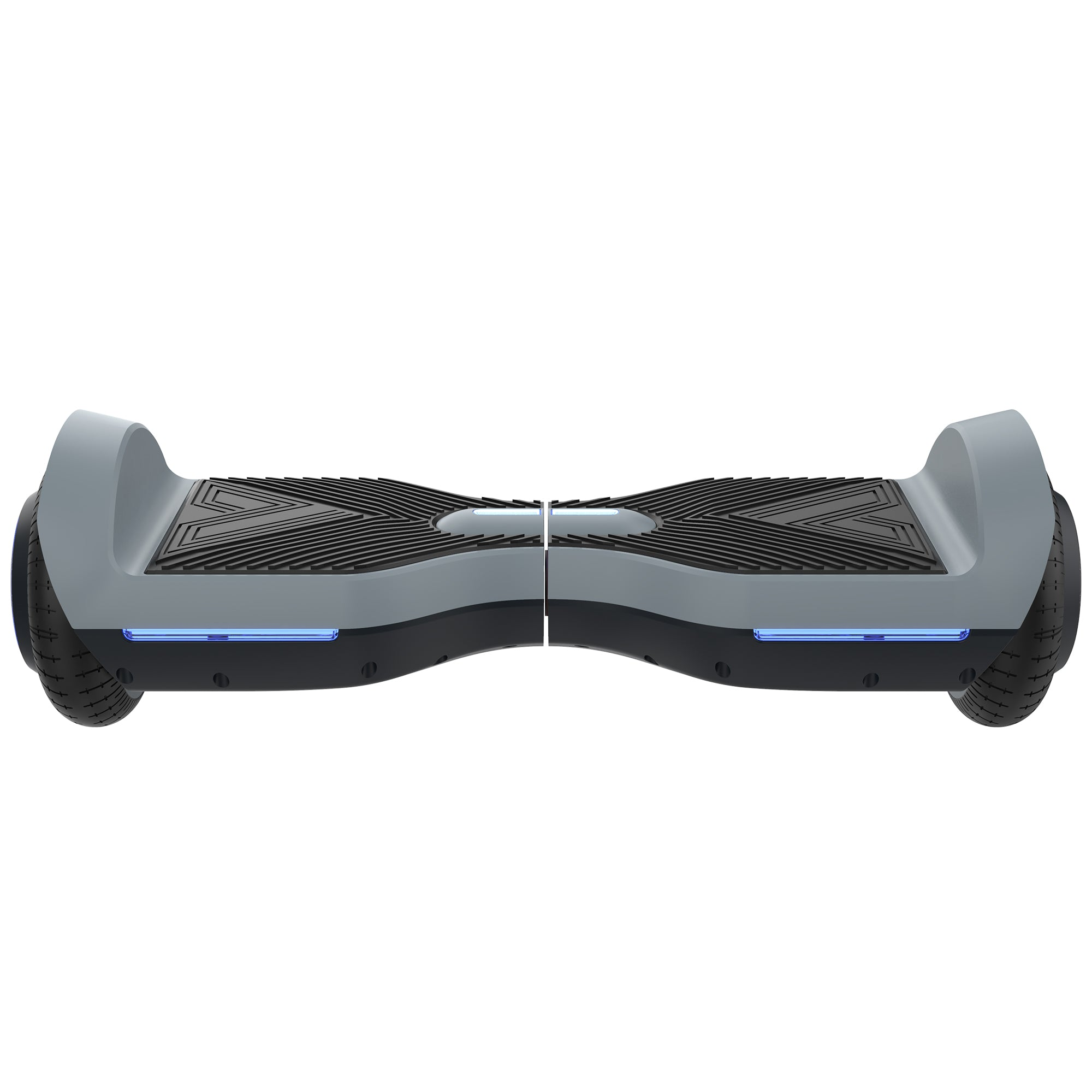 gray front view SRX bluetooth hoverboard