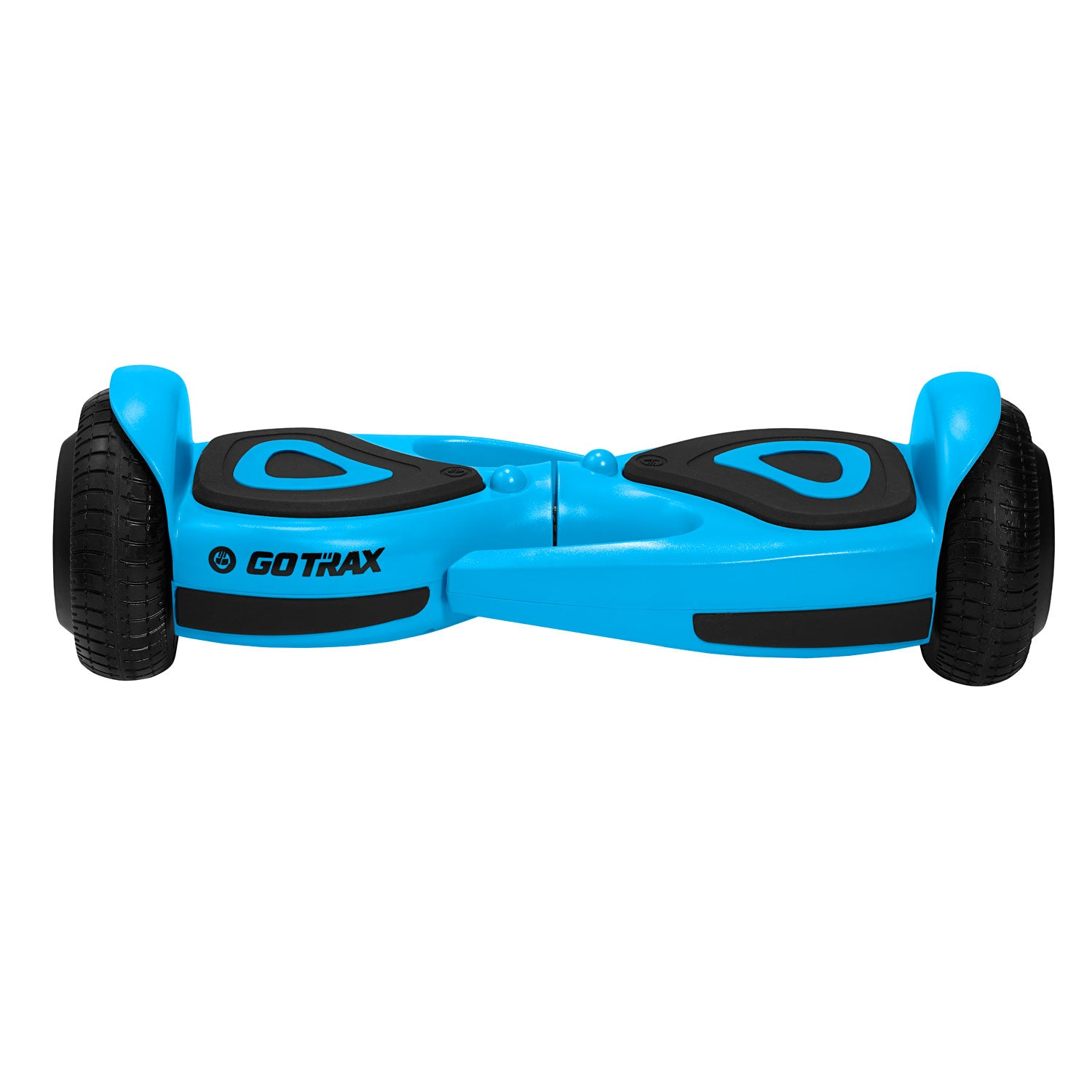 Blue SRX mini hoverboard front view