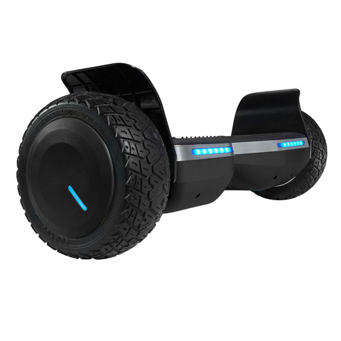Black Main Image SRX Pro all terrain hoverboard with bluetooth