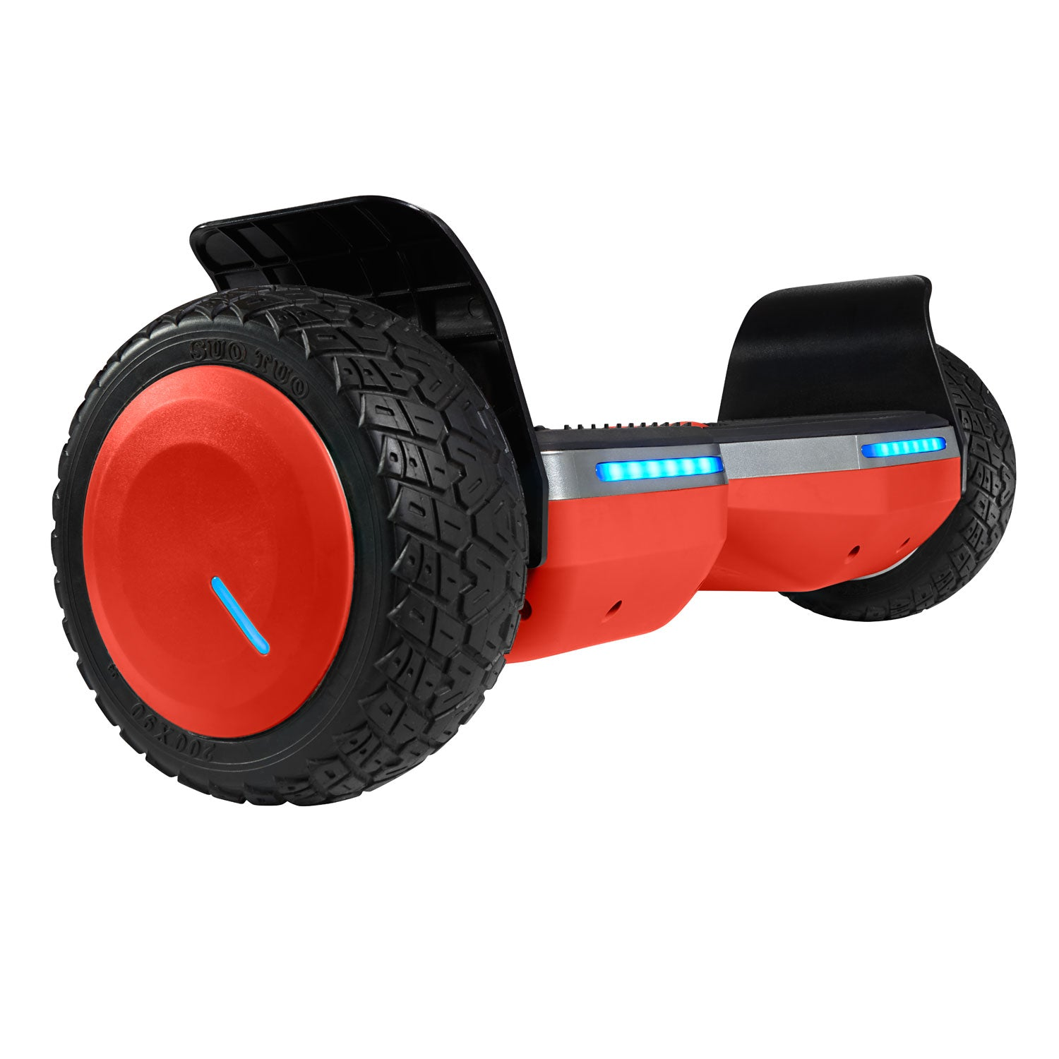 red Main Image SRX Pro all terrain hoverboard with bluetooth