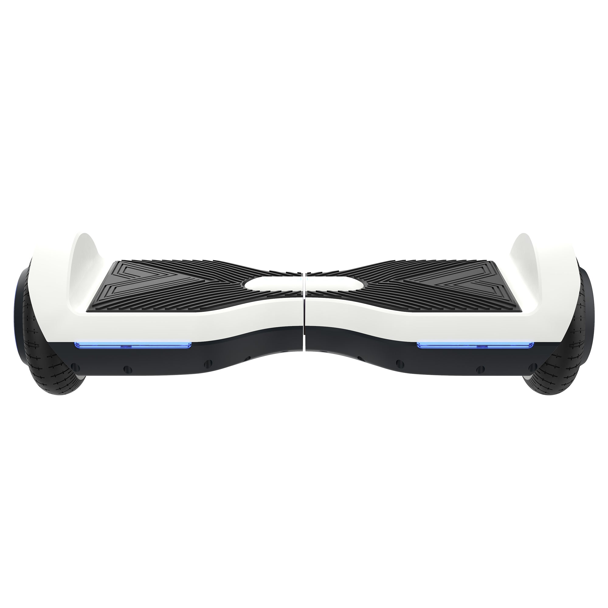 white front view SRX bluetooth hoverboard