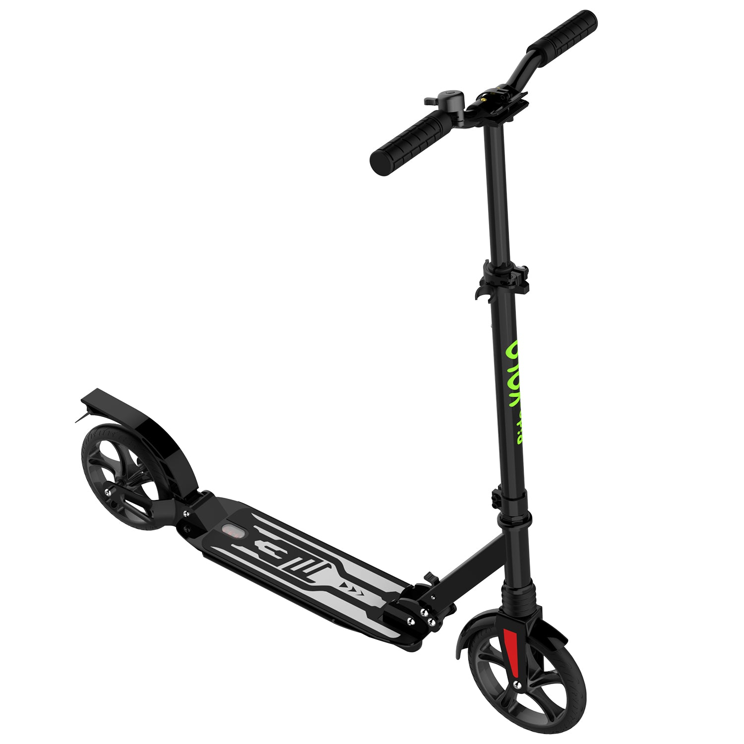 Black K08-1 Kick Scooter angle 2
