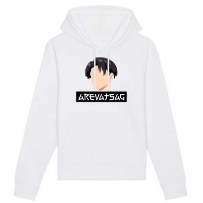 SWEAT À CAPUCHE - HOODIE LEVI ACKERMAN BY AREVATSAG