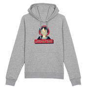 SWEAT À CAPUCHE - HOODIE MONKEY D LUFFY BY AREVATSAG - AREVATSAG STUDIO