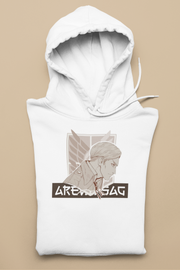 SWEAT À CAPUCHE - HOODIE ERWIN SMITH BY AREVATSAG - AREVATSAG STUDIO