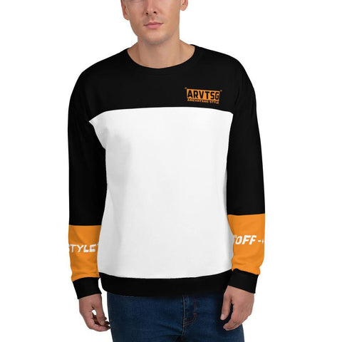 "SWEATSHIRT UNISEX AREVATSAG ""OFF - + ON STYLE"" - Arevatsag"
