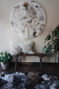 Circle Sheepscape Wall Art