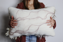 Load image into Gallery viewer, Sheepscape Lumbar Pillow