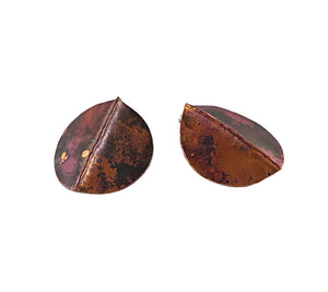 Copper Aspen Foldform Earrings
