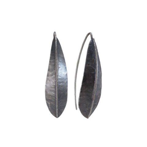Silver Willow Foldform Earrings
