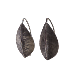 Silver Beech Foldform Earrings