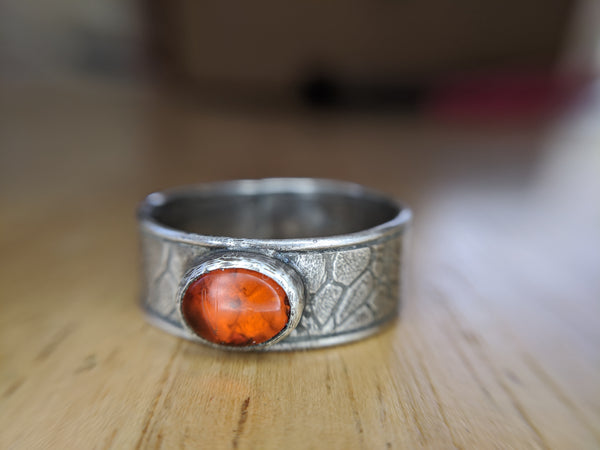 Amber Ring (One of a Kind)