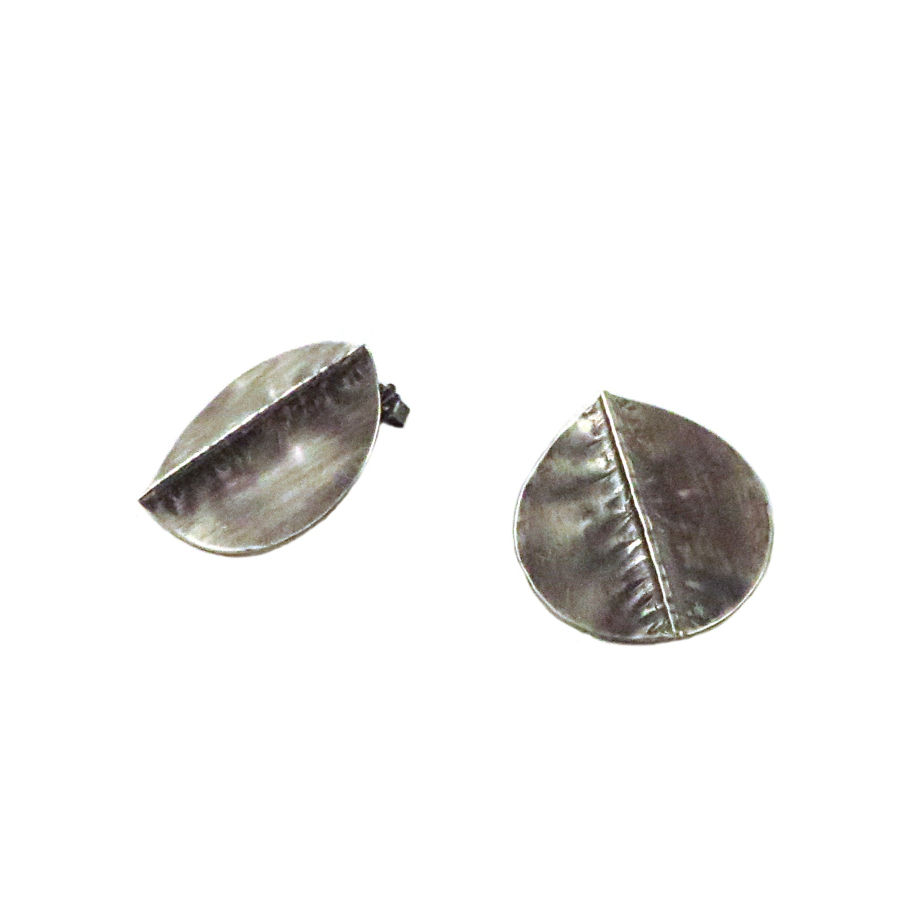 Silver Aspen Foldform Earrings