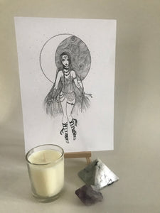 MOON CHILD || Women of Power Limited Edition Card Art