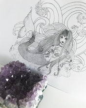 MODERN MERMAID || Women of Power Limited Edition Card Art