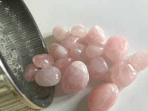 Rose Quartz Crystal Tumbles