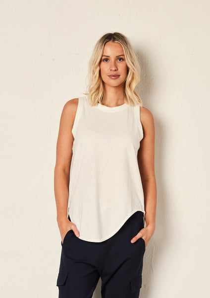 The Staple Tank - White