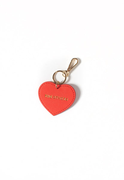 The Heart Keyring - Red