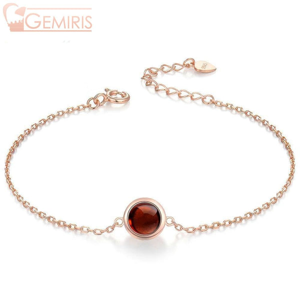 Capricor 100% Simple Natural Garnet Bracelet - Bracelet - $42.99