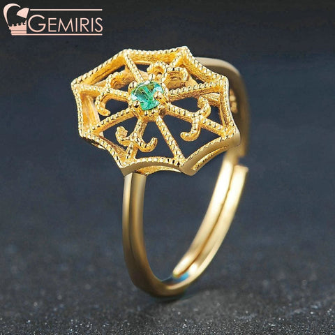 Fawaris 100% Natural Green Emerald Ring - Ring - $59.99