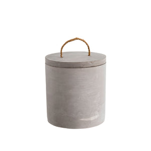 Concrete Canister - Medium