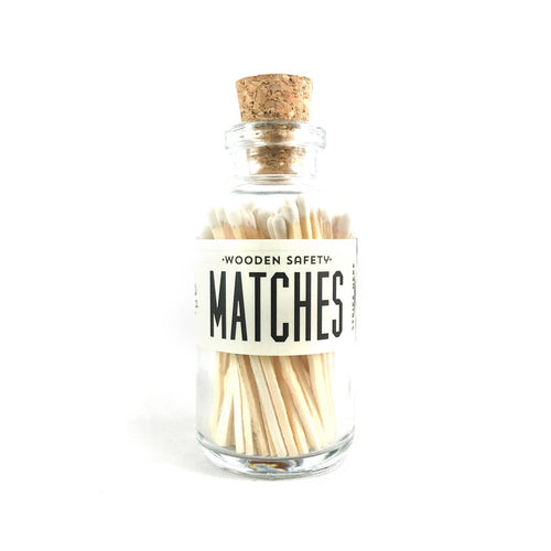 White Mini Matches