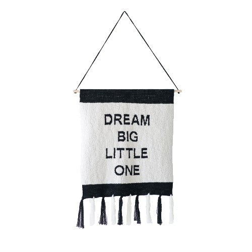 Dream Big Little One Wall Banner