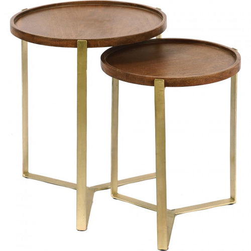 Noma Nested Side Tables - Set of Two