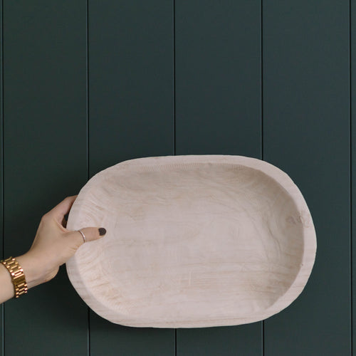 Pawlownia Natural Wood Bowl
