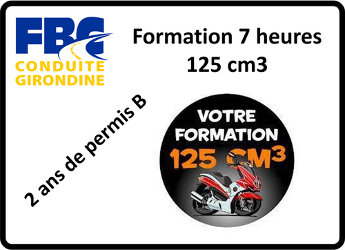 FORMATION 7 HEURES 125cm3