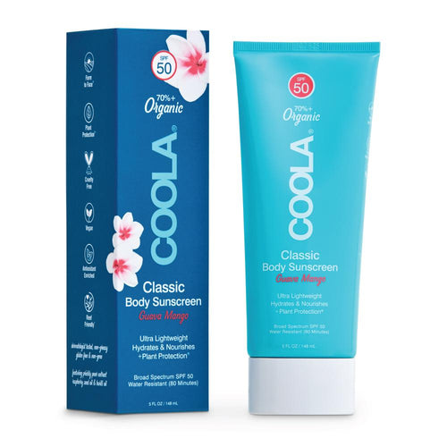 COOLA Classic Body Sunscreen Lotion SPF50 Guava Mango