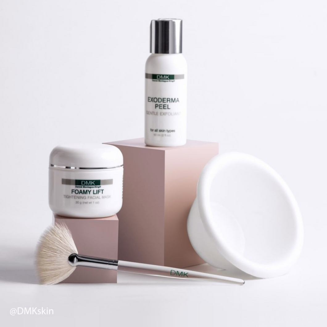 DMK Exoderma Peel + Foamy Lift (With Free Brush and Bowl) 30ml