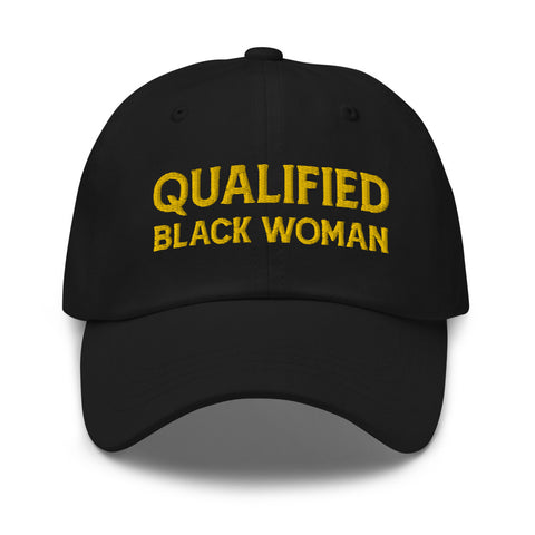Qualified Black Woman Dad Hat