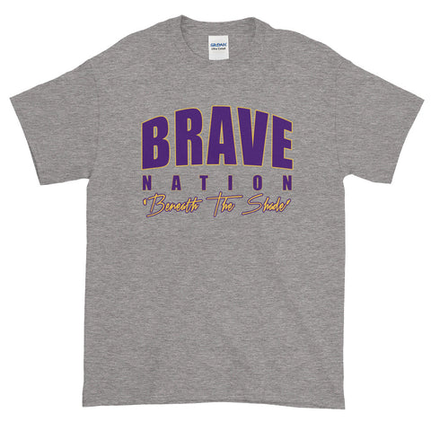 Brave Nation Gray Unisex T-Shirt