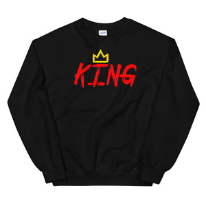 King Sweatshirt red