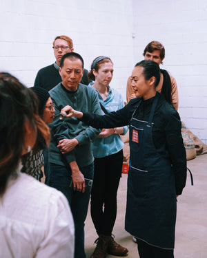 Phin Party: Vietnamese Coffee Roasting, Phin Filter Brewing & Cupping | SightGlass Event Recap