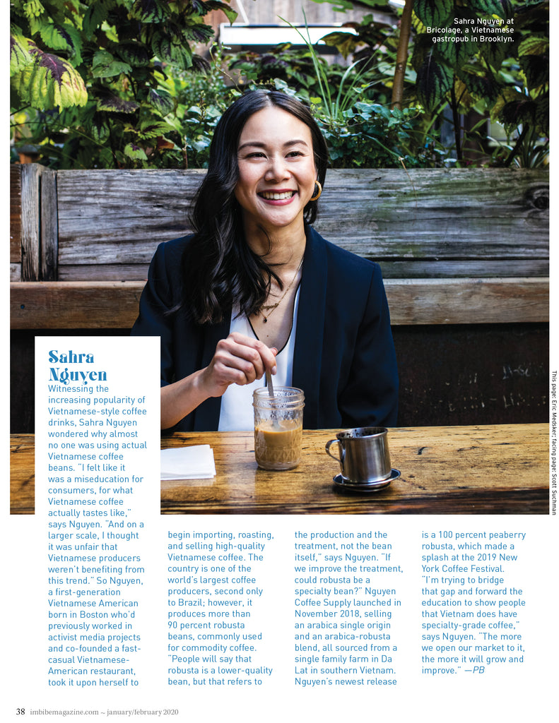 imbibe magazine imbibe75 nguyen coffee supply sahra
