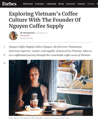 forbes - nguyen coffee supply - vietnamese coffee - vietnam coffee shop tour