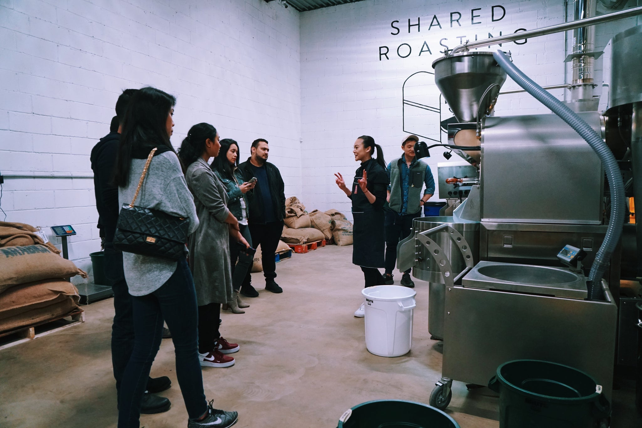 nguyen coffee supply vietnamese american female founder specialty coffee culture demonstration vietnamese coffee phin coffee culture