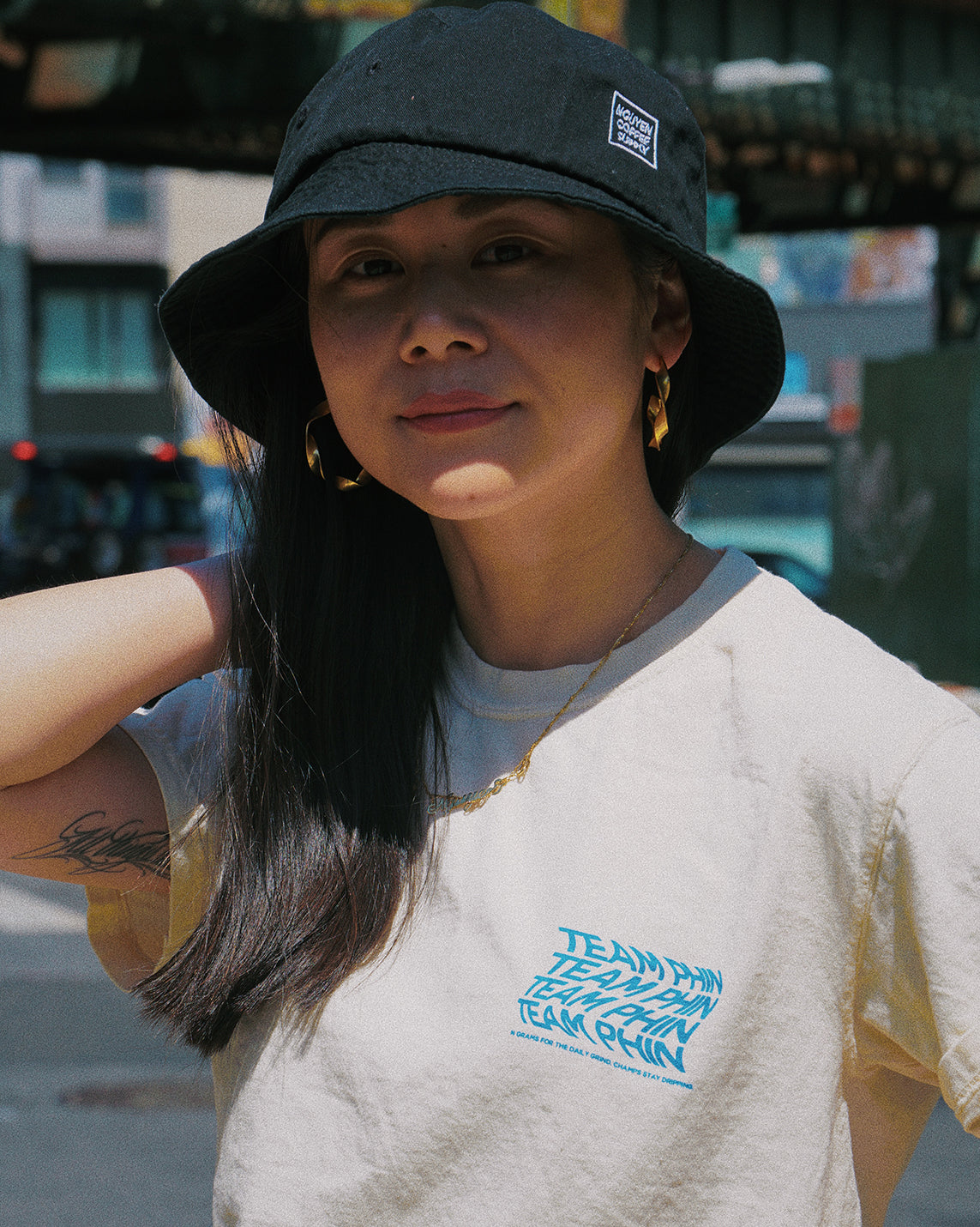 90s Bucket Hat - Nguyen Coffee Supply - Team Phin - streetwear -brooklyn