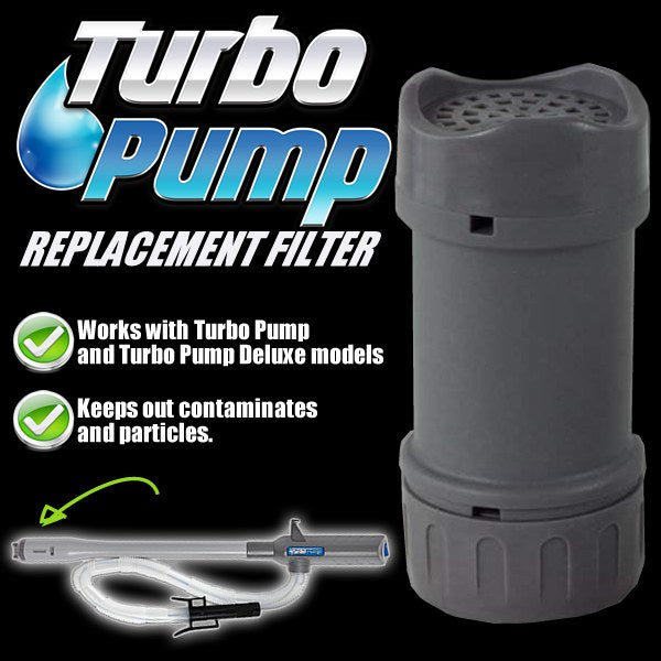 Turbo Pump Replacement Filter
