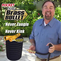 Pocket Hose Top Brass Bullet
