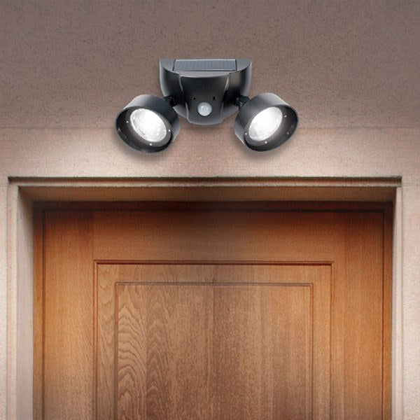 Solar Night Eyes Security Light With Alarm As Seen On Tv